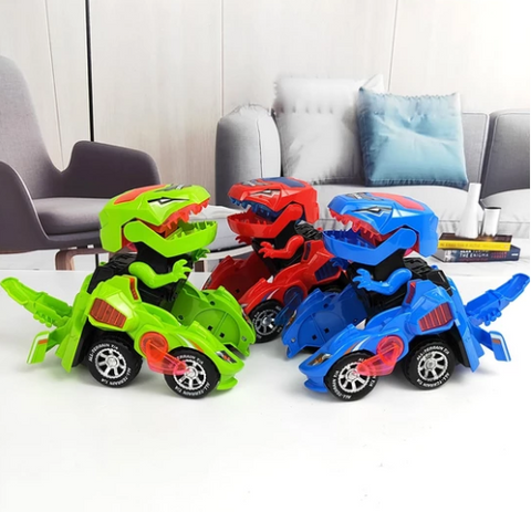 Dinosaur LED Toy Car