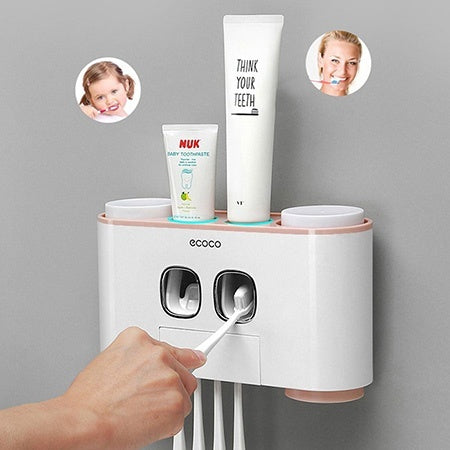 Toothbrush Holder Toothpaste Squeezer