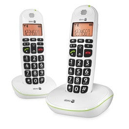 Picture of Doro PhoneEasy® 100w amplified cordless phone duo