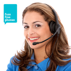 Fuss Free Phones - a great new airtime and telephonist service