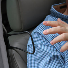 Seat belt reacher - for those with limited mobility