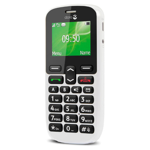 Picture of Doro PhoneEasy 5030 Mobile Phone - White