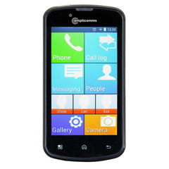Amplicomms M9500 simple and amplified smartphone with SOS button