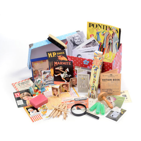 Picture of I Remember the 1950s Themed Memory Box