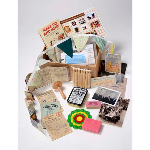 Picture of World War II Themed Memory Box