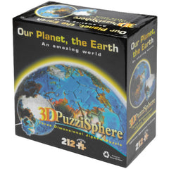 Planet Earth 3D Puzzle