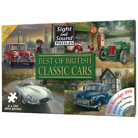 Picture of Classic Cars Jigsaw Puzzle and DVD