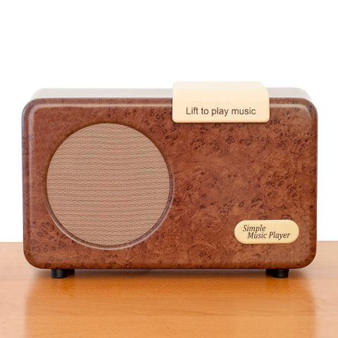 Picture of Simple Music Player - Burr Walnut