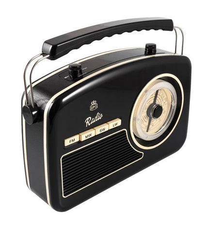 Picture of GPO Rydell 4 band radio - black