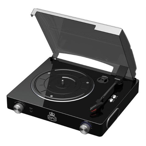 Picture of GPO Stylo turntable - black