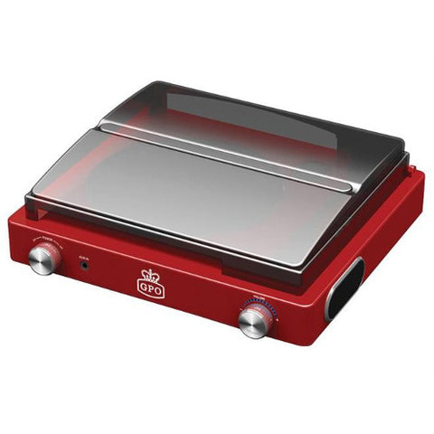 Picture of GPO Stylo turntable - red