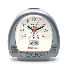 Talking Alarm Clock - large buttons and clear voice
