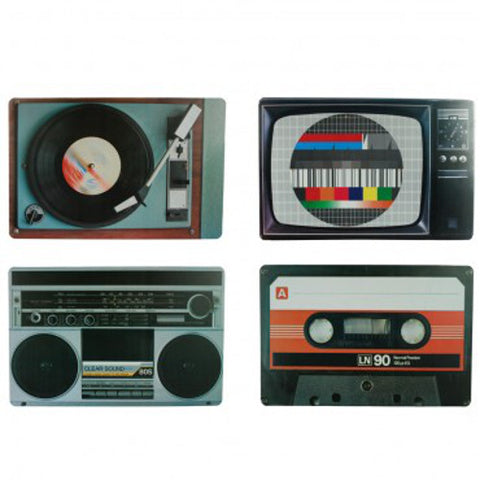 Picture of Themed table mats - music players