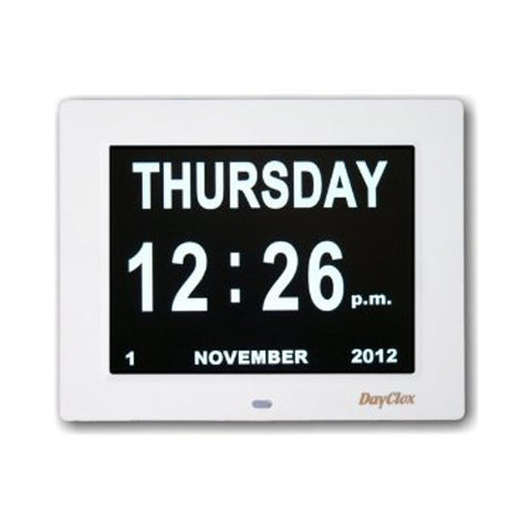 Picture of Digital Calendar Clock - clear and simple