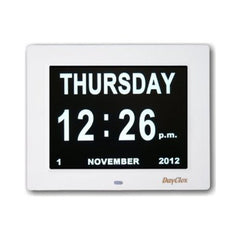 Digital Calendar Clock - clear and simple