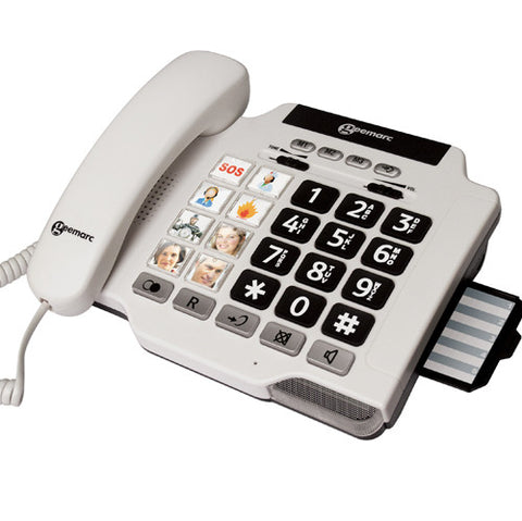 Picture of Geemarc PhotoPhone 100  - big buttons and picture dialing