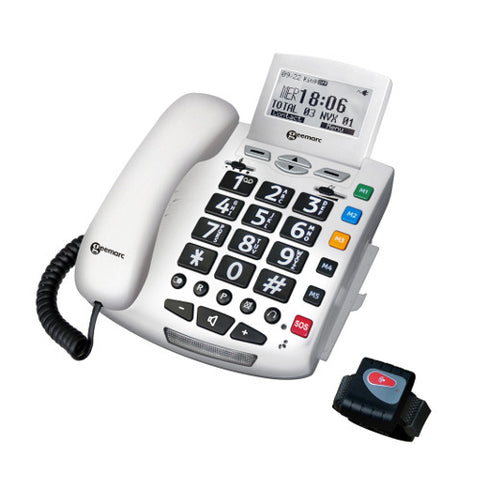 Picture of Geemarc Serenities - emergency response telephone  with remote control