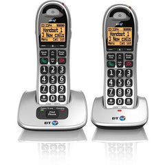 BT 4000 Twin Cordless Big Button Phone with Nuisance Call Blocker