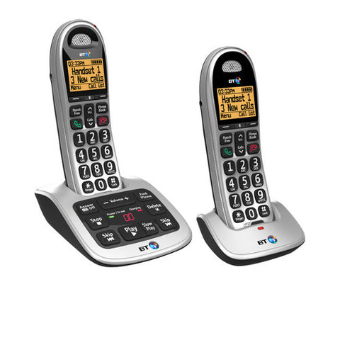 Picture of BT 4600 Twin Cordless Big Button Phone with Nuisance Call Blocker and Answerphone