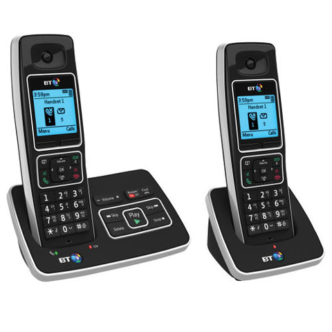 Picture of BT 6600 Twin Cordless Phone with Answer Machine and Nuisance Call Blocking