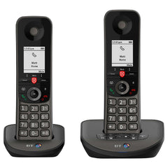 BT Advanced Twin Cordless Phone with Answer Machine and Nuisance Call Blocking - NEW!