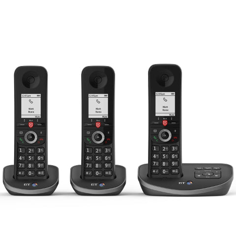 Picture of BT Advanced Trio Cordless Phone with Answer Machine and Nuisance Call Blocking