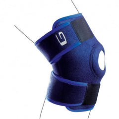 Knee support - open
