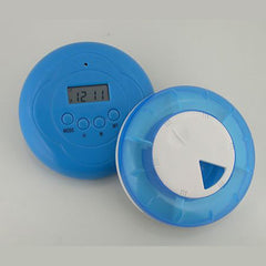 Vibration 5 Alarm Pill Box Reminder