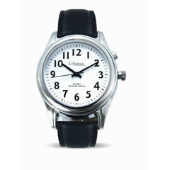 Atomic Talking Watch (Ladies, leather strap)