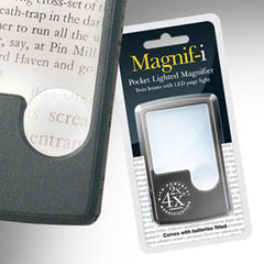 Pocket Magnifier with Light