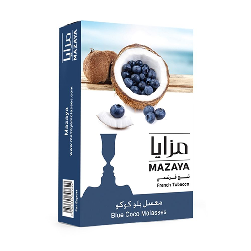 Mazaya Blue Coco Liqui Mix Tobacco