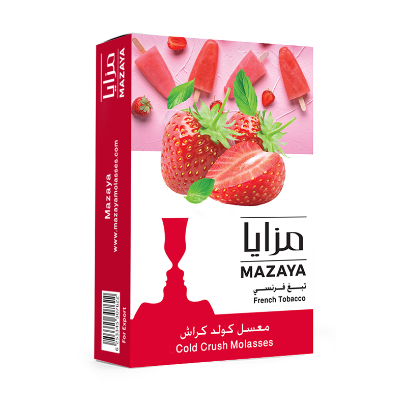 Mazaya Cold Crush Liqui Mix Tobacco