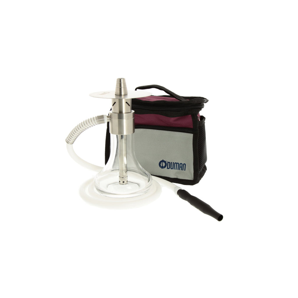 Oduman Monster STAINLESS STEEL SHISHA HOOKAH WITH TRAVEL BAG