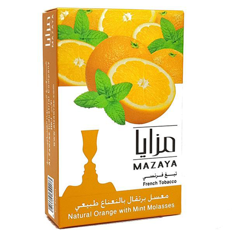 Mazaya Orange With Mint Liqui Mix Tobacco