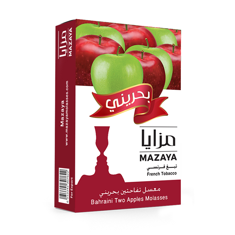Mazaya Double Apple Bahraini Liqui Mix Tobacco