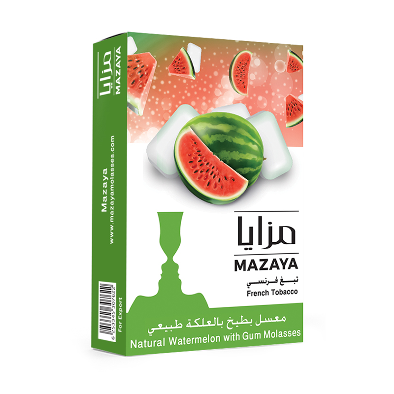 Mazaya Watermelon With Gum Liqui Mix Tobacco