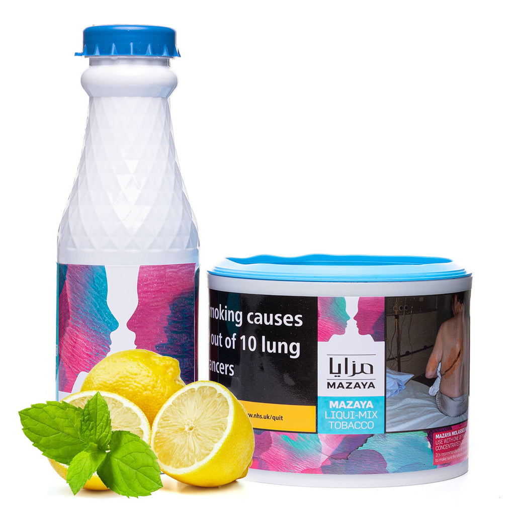Mazaya Lemon with Mint Liqui Mix Tobacco