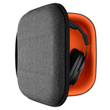 Geekria Headphones Case Compatible with Sennheiser HD650, HD600, HD380, PXC450, Sony MDR-XB200 ZX700 MDR-7506 V6 V700/ Headphone Full Size Hard Shell Large Carrying Case / Headset Travel Bag