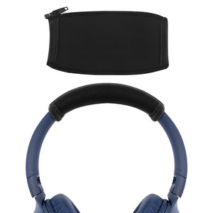 Geekria Headband Cover for JBL TUNE 500BT, T500BT, T600BTNC, EVEREST 750, Everest 710, Headphones / Replacement Headband Protector Repair Parts / Headband Cushion / Easy Installation (Black)