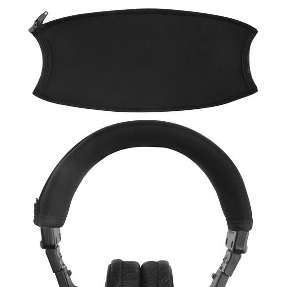 Geekria Headband Cover Replacement for Sony MDR-V6, MDR-V600, MDR-V900, MDR-Z600, MDR-7506, MDR-7509, MDR-CD900ST Headphones / Headband Protector Sleeve / Easy Installation No Tool Needed