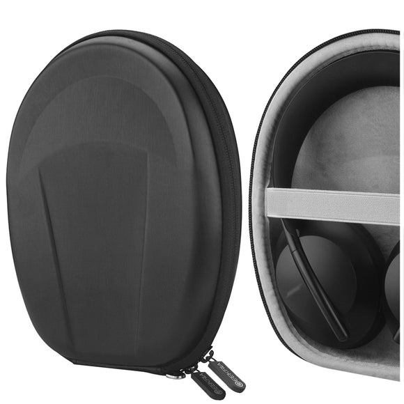 Geekria UltraShell Headphones Carrying Case for Bose Headphones 700, NC 700, Noise Cancelling, QC35 Series II, QC35 Series I, QC25, Protective Hard Shell Travel Bag with Room for Accessories (Upgrade)