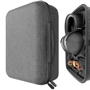 Geekria UltraShell Headphone Case for SONY MDR-Z1R, MDR-Z7M2, Grado PS1000e, Denon AH-D5200, AH-D9200, JVC HA-SZ2000, HA-SZ1000e Headphones - Replacement Extra Large Hard Shell Travel Carrying Bag