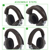 Geekria Headband Cover Replacement for Sony MDR 1A, MDR 1RNC, MDR 1R, 1RBT, 1ADAC, 1ABT, 1AM2, 1RMK2, MDR-1RNCMK2 Headphones / Headband Protector Repair Parts / Easy DIY Installation No Tool Needed