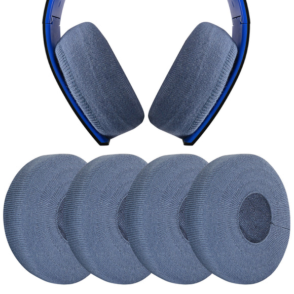 Geekria 2 Pairs Sweater Earphone Cover Headphone Ear Cushions / Stretchable Knit Fabric Earpad Protectors / Fits 4.33