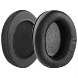 Geekria Performance Protein Leather Ear Pads for Audio-Technica ATH-M50X M40X M30X M20X M10X Headphones, Replacement Ear Cushion / Ear Cups / Ear Cover Earpads Repair Parts (Extra Thick)