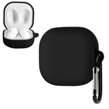 Geekria Soft Silicone Case for Samsung Galaxy Buds Live 2020 True Wireless Earbuds Headset/Headphones, Buds Live Accessories Charging Case, And Samsung Buds Live Wireless Charging Case (Black)