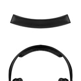 Geekria Headband Pad for Sennheiser HD202, HD212pro, HD437, HD447, HD457, HD497 Headphones Replacement Headbands / Rubber Cushion Pad Repair Parts (Black)