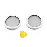 Geekria Earpad for MDR-ZX600 Headphone Replacement Ear Pad / Ear Cushion / Ear Cups / Ear Cover / Earpads Repair Parts (White leather & Gray Mesh)