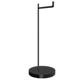 Geekria Acrylic Headphones Stand / Headset Holder / Desk Display Hanger, Fit Audio-Technica, AKG K701, Sennheiser, JVC, Beats Studio Solo, Gaming Headset, and Many Large Earphones (Black)