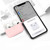 Geekria Silicone Protective Cover for AirPods Pro Case, Carrying Case, with Keychain Soft Slim Silicone Case, Used for Apple 2019 AirPods 3 Wireless Earbud (Pink)